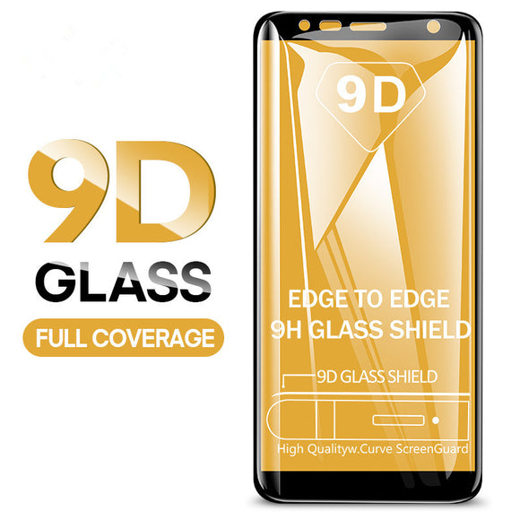 9D Full Cover Tempered Glass Screen Protector for Samsung Galaxy S10E/S10 Plus/S10/S9 Plus/S9/S8 Plus/S8/Note 8/Note 9 - caseative