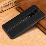Luxury Stitching Leather Phone Case Back Cover for OnePlus 7 Pro/7/6T/6 - caseative