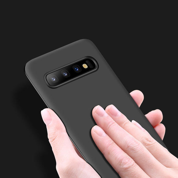 Solid color Matte Phone Case Back Cover for Samsung Galaxy S10E/S10 Plus/S10/S9 Plus/S9/S8 Plus/S8/S7 Edge/S7/Note9/Note8 - caseative