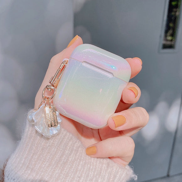 Water Drop Rainbow Soft AirPods Case