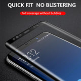 5D Full Protective Tempered Glass Screen Protector for Samsung Galaxy S10 Plus/S10e/S10/S9 Plus/S9/S8 Plus/S8/S7 Edge/S7/Note 8/Note 9 - caseative