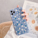 Cute Daisy Flower Soft iPhone Case