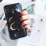 3D Space Moon Star Planet iPhone Case