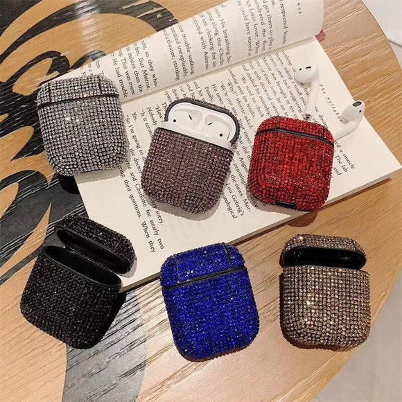 Shining Full of Diamond Wireless Bluetooth Earphone Cases for Airpods - caseative