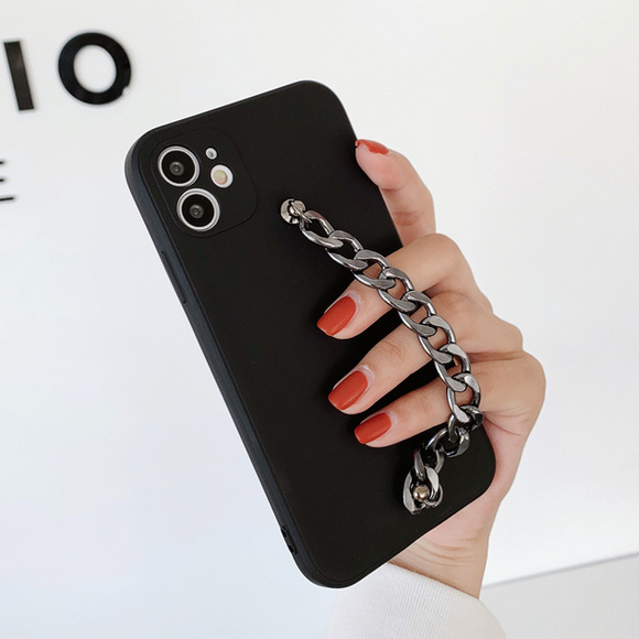 Fashion Metal Bracelet Soft iPhone Case