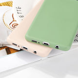 Candy Color Soft Silicone Samsung Case