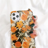 Vintage Flowers Soft iPhone Case