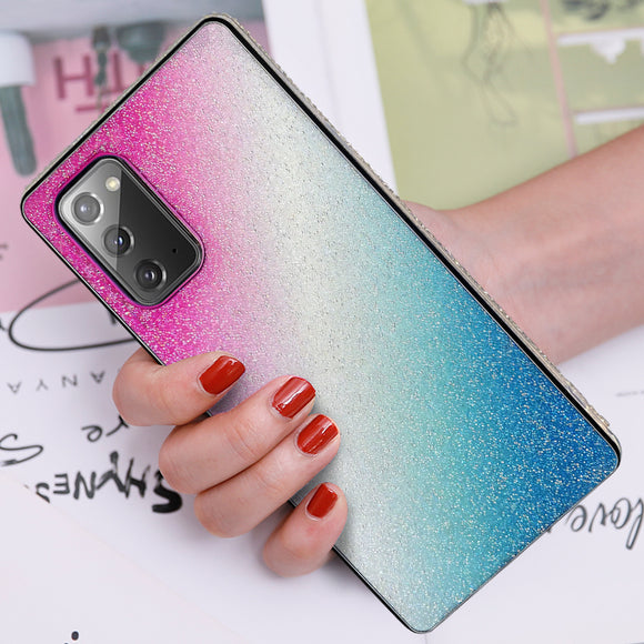 Gradient Diamond Soft Samsung Case