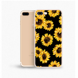 Daisy Sunflower Soft TPU Phone Case Back Cover for iPhone SE/11 Pro Max/11 Pro/11/XS Max/XR/XS/X/8 Plus/8/7 Plus/7/6s Plus/6s/6 Plus/6 - caseative