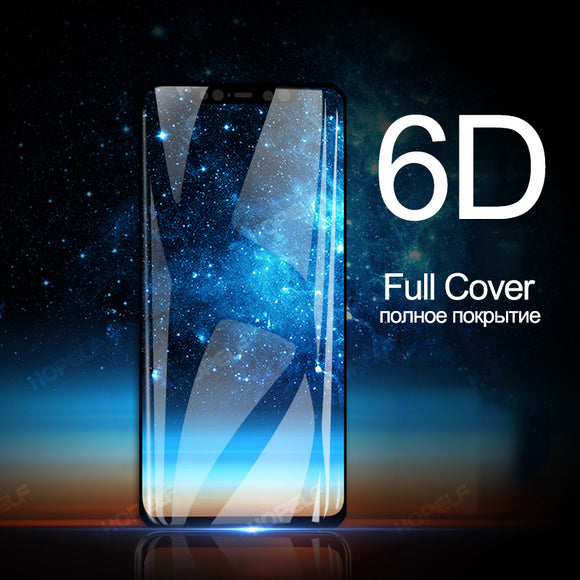 6D Full Cover Tempered Glass Screen Protector for Samsung Galaxy S10E/S10 Plus/S10/S9 Plus/S9/S8 Plus/S8/Note 8/Note 9
