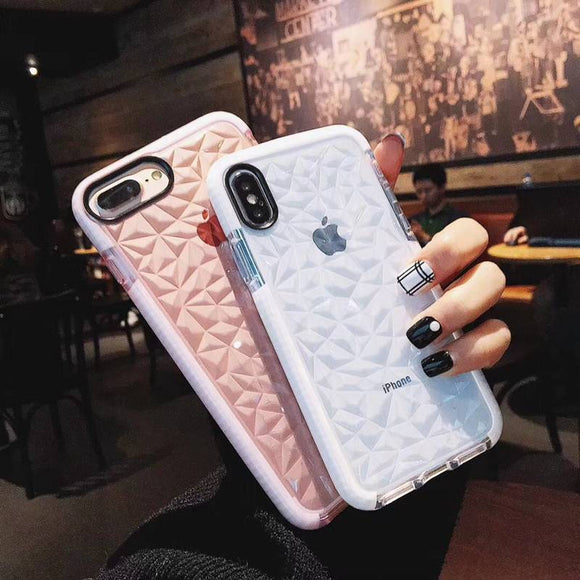 Luxury Transparent Soft Silicone iPhone Case