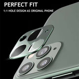 Glass Film Camera Len Protector for iPhone 11/11 Pro/11 Pro Max/XS Max/XR/XS/X/8 Plus/8/7 Plus/7 - caseative