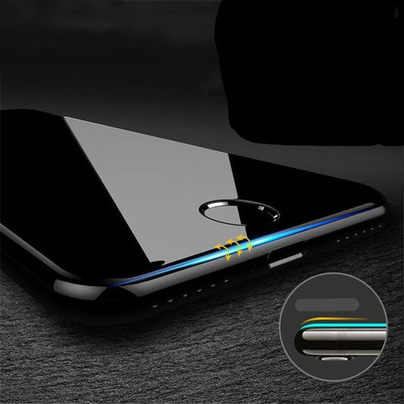 5D Full Protective Tempered Glass Screen Protector for iPhone 11 Pro Max/11 Pro/11/XS Max/XR/XS/X/8 Plus/8/7 Plus/7/6s Plus/6s/6 Plus/6 - caseative