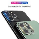 Metal Camera Len Protector for iPhone 11/11 Pro/11 Pro Max/XS Max/XR/XS/X/8 Plus/8/7 Plus/7 - caseative