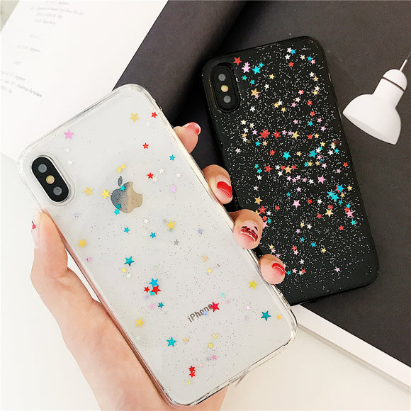 Glitter Bling Shining Sequin Phone Case Back Cover for iPhone SE/11 Pro Max/11 Pro/11/XS Max/XR/XS/X/8 Plus/8/7 Plus/7/6s Plus/6s/6 Plus/6 - caseative