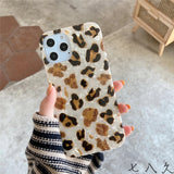 Leopard Dream Shell Soft iPhone Case