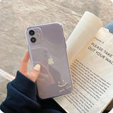 Good Luck Smile Face Transparent Soft iPhone Case