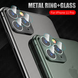 2 In 1 Camera Len Protector for iPhone 11/11 Pro/11 Pro Max/XS Max/XR/XS/X/8 Plus/8/7 Plus/7 - caseative