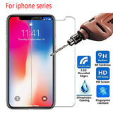 9D HD Tempered Glass Screen Protector for iPhone 11 Pro Max/11 Pro/11/XS Max/XR/XS/X/8 Plus/8/7 Plus/7/6s Plus/6s/6 Plus/6 - caseative