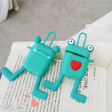 Cartoon Frog Love Heart Wireless Bluetooth Earphone Cases for Airpods - caseative