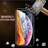 30D Curved Edge Tempered Glass Screen Protector for iPhone 11 Pro Max/11 Pro/11/XS Max/XR/XS/X/8 Plus/8/7 Plus/7/6s Plus/6s/6 Plus/6 - caseative