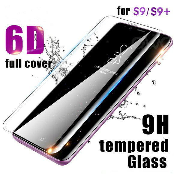 6D Full Protective Tempered Glass Screen Protector for Samsung Galaxy S10E/S10 Plus/S10/S9 Plus/S9/S8 Plus/S8/Note 8/Note 9 - caseative
