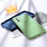 Solid Color Anti-drop Liquid Silicone Soft Samsung Case
