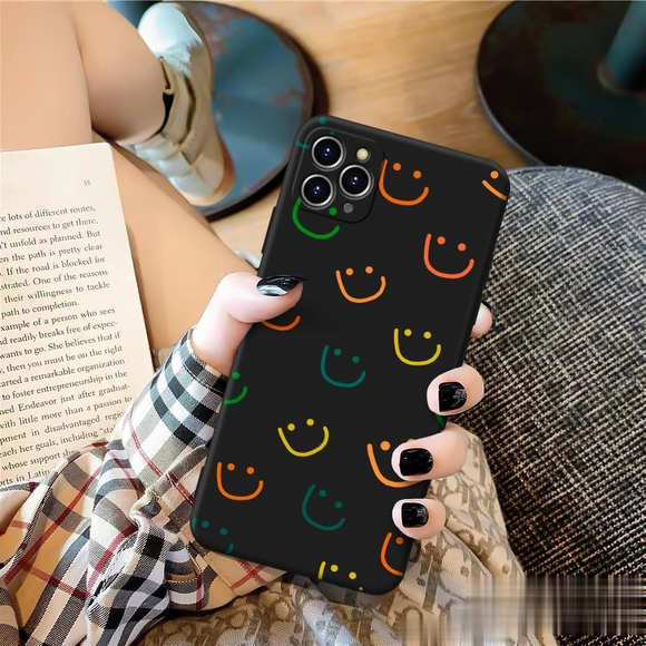 Cute Emoji Soft iPhone Case