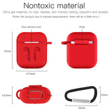 Candy Color Pothook Wireless Bluetooth Earphone Cases for Airpods - caseative