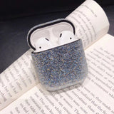 Bling Diamond Solid Color Soft AirPods Case