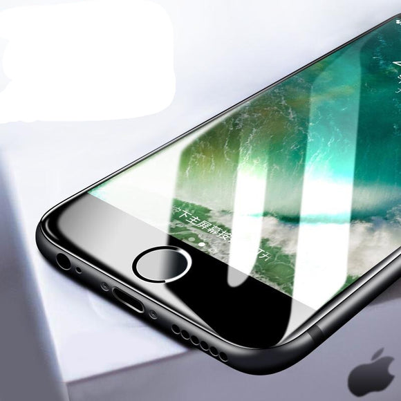 20D Curved Edge Tempered Glass Screen Protector for iPhone 11 Pro Max/11 Pro/11/XS Max/XR/XS/X/8 Plus/8/7 Plus/7/6s Plus/6s/6 Plus/6 - caseative