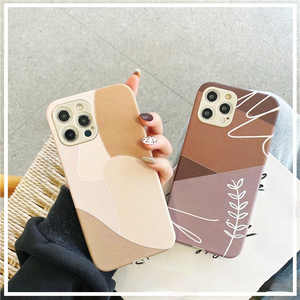 Fashion Art Line Stitching Silicone Soft iPhone Case