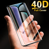 40D Full Curved Tempered Glass Screen Protector for Samsung Galaxy S10E/S10 Plus/S10/S9 Plus/S9/S8 Plus/S8/Note 8/Note 9