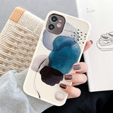 Graffiti Watercolor Painting Soft iPhone Case