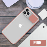 Slide Camera Lens Protection Clear Soft Phone Case Back Cover for iPhone 11/11 Pro/11 Pro Max/XS Max/XR/XS/X/8 Plus/8/7 Plus/7 - caseative