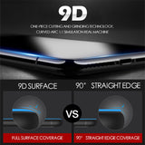 9D Curved Edge Tempered Glass Screen Protector for iPhone 11 Pro Max/11 Pro/11/XS Max/XR/XS/X/8 Plus/8/7 Plus/7/6s Plus/6s/6 Plus/6 - caseative