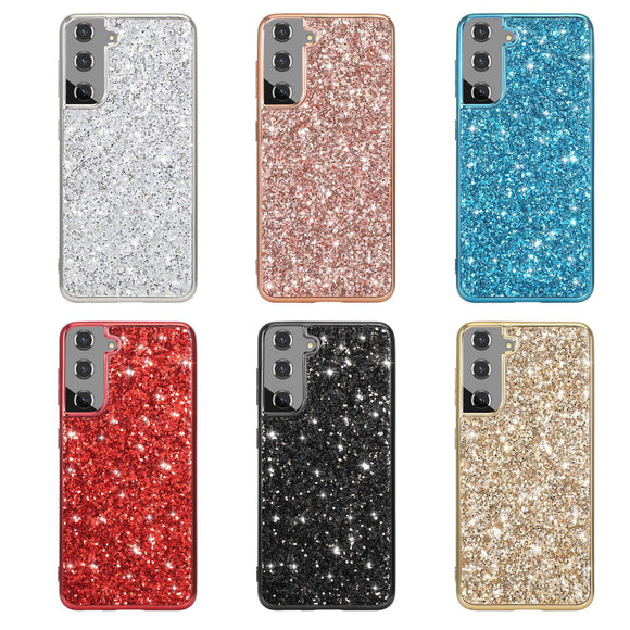 Glitter Electroplated Diamond Samsung Case