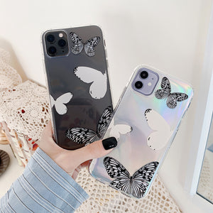 Laser Butterfly Soft iPhone Case