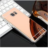 Luxury Ultra Thin Bling Mirror Soft TPU Phone Case Back Cover for Samsung Galaxy S10E/S10 Plus/S10/S9 Plus/S9/S8 Plus/S8/Note 8/Note 9 - caseative