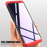 360 Degree Full Protection Shockproof Phone Case Back Cover for Samsung Galaxy S10E/S10 Plus/S10/S9 Plus/S9/S8 Plus/S8 - caseative