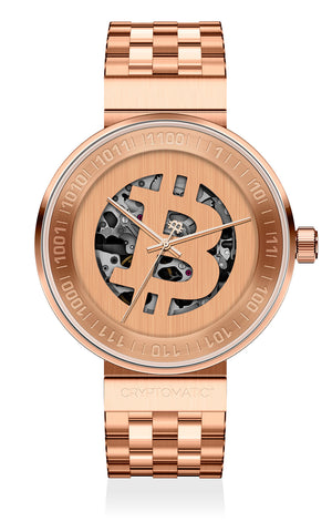 THE CRYPTOMAT ROSE GOLD