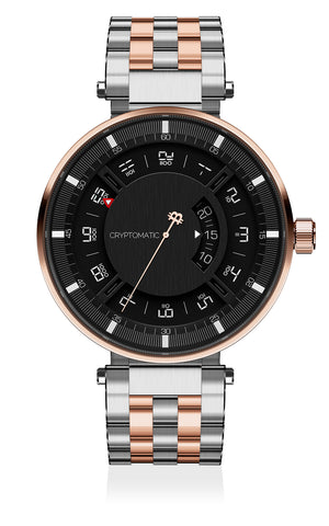 THE HODLER ROSE GOLD & BLACK
