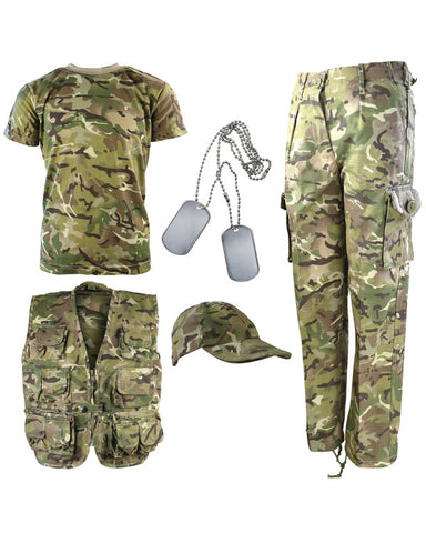 Kids Camouflage Explorer Army Kit - BTP