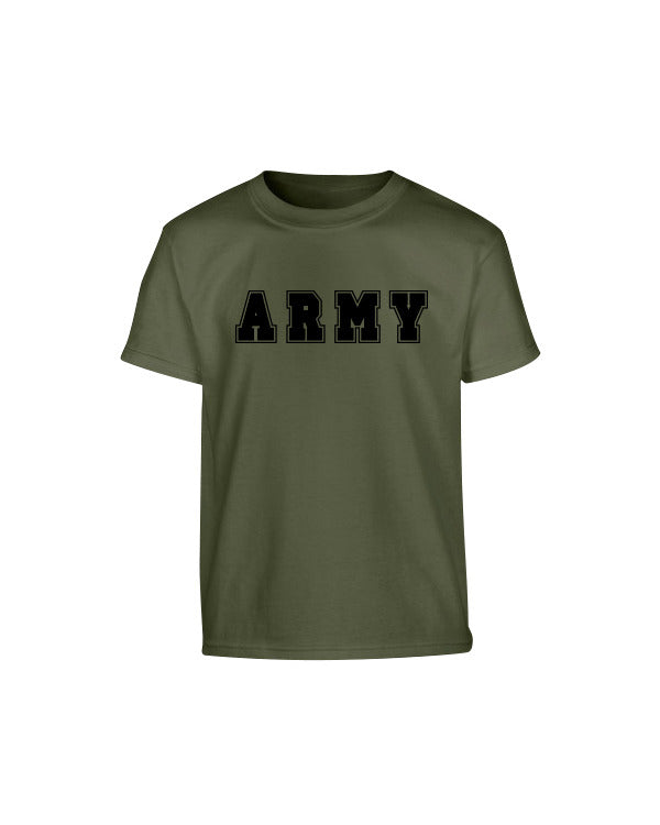 Kombat Kids T-Shirt - Army