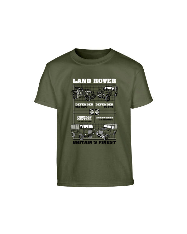 Kombat Kids T-Shirt - Land Rover