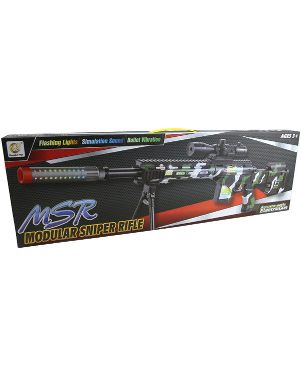 Kids Black Sniper Rifle Toy Gun