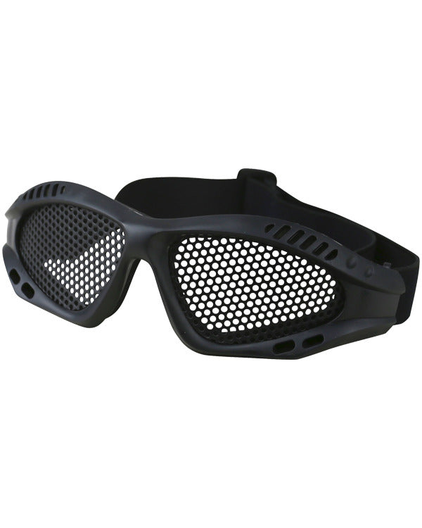 Kombat Tactical Mesh Glasses  - Black