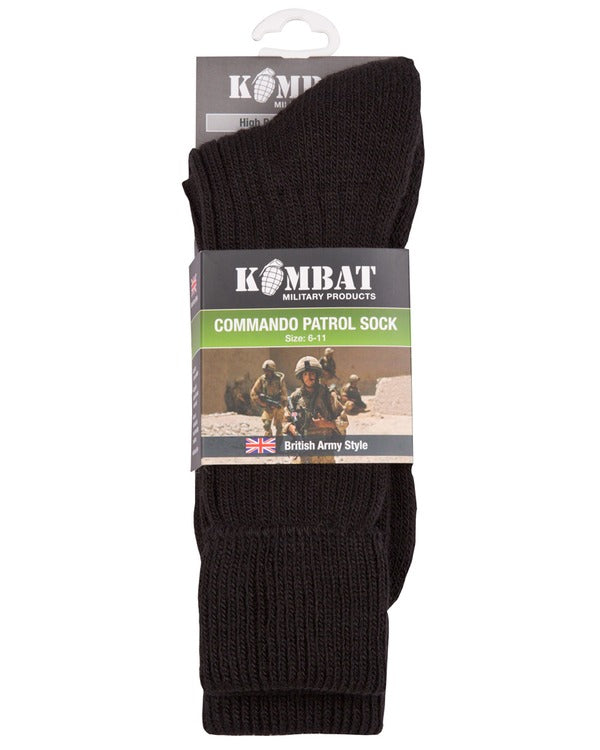 Kombat Patrol Socks - Black