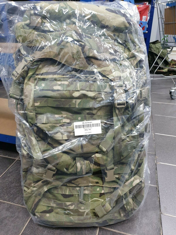 British Army Virtus 90 Litre GU Bergen - New