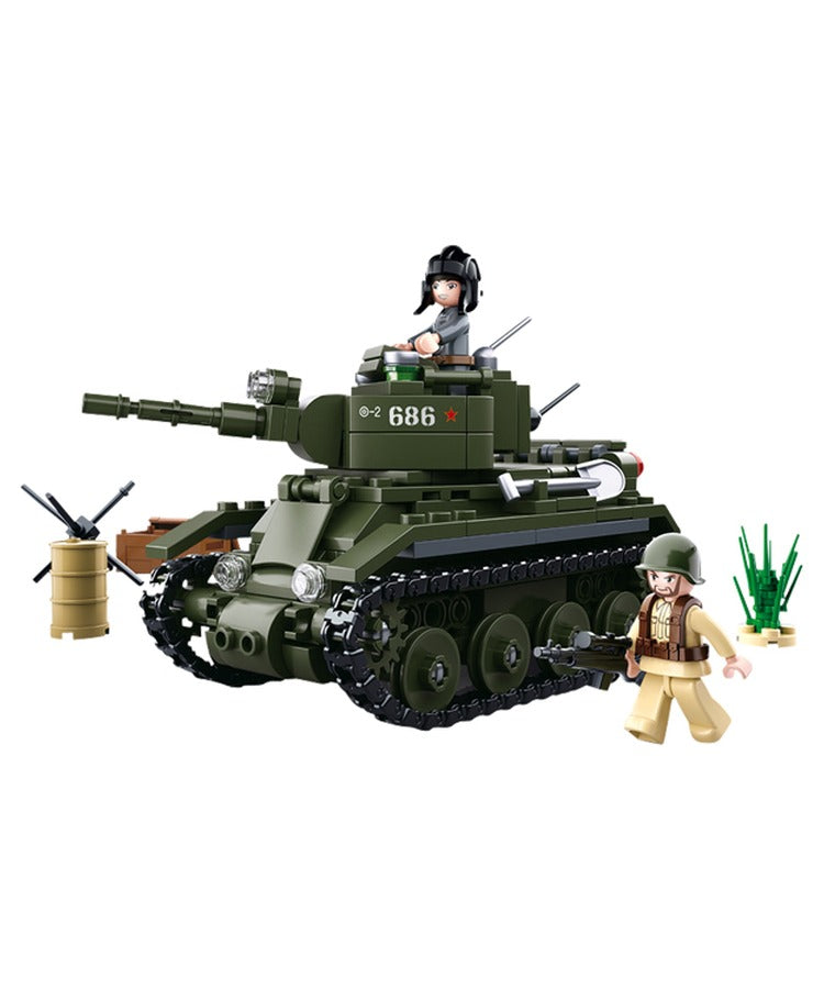 Sluban - B0686 (WWII Allied Light Cavalry Tank)